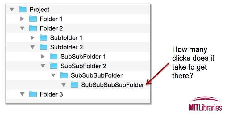 File and Folder Organization - long draft | UC Merced Library
