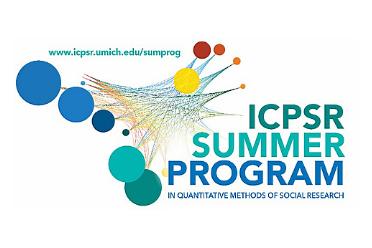 ICPSR Summer Program and colorful circular logo