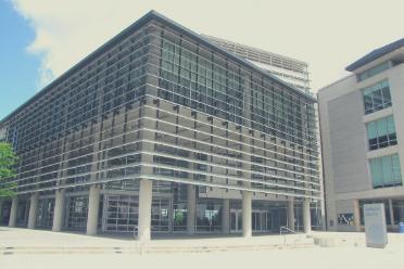 exterior of Lantern building
