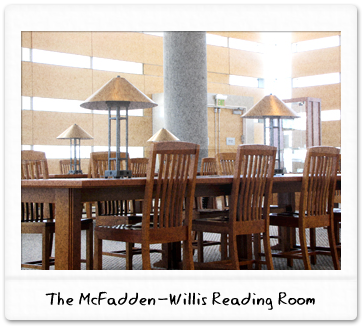 McFadden Willis Reading Room