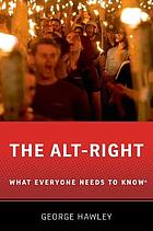 The alt-right book cover