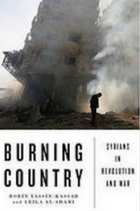 Burning country : Syrians in revolution and war book cover
