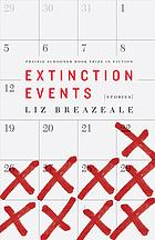 Extinction events book cover