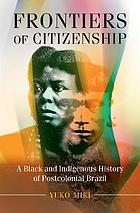 Frontiers of citizenship book cover