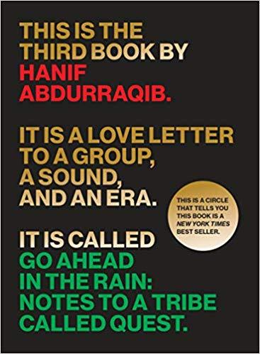 Go ahead in the rain book cover