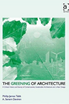 The greening of architecture book cover