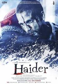 Haider DVD cover