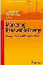 Marketing Renewable Energy book cover