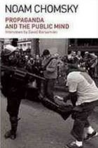 Propaganda and the public mind: conversations with Noam Chomsky book cover