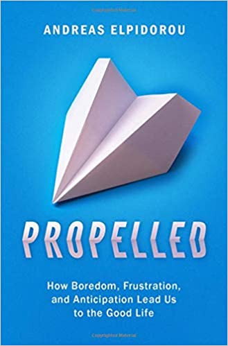 Propelled book cover
