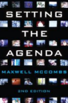 Setting the agenda book cover