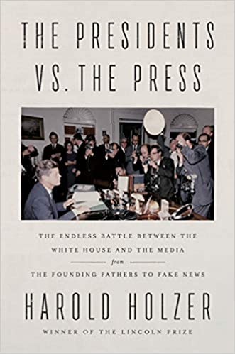 The presidents vs. the press book cover