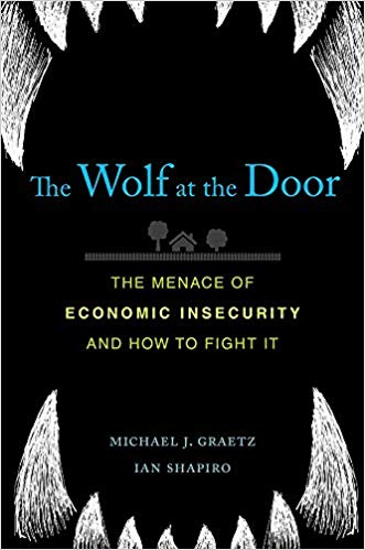The wolf at the door book cover