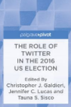 Role of Twitter in the 2016 US election book cover