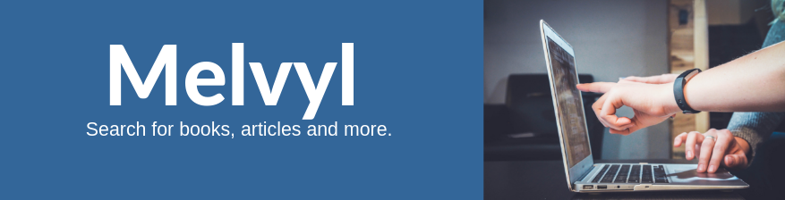 Use the library's catalog, Melvyl, to search for books, articles and more.