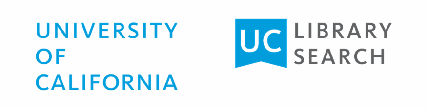 UC Library Search logo in blue and grey