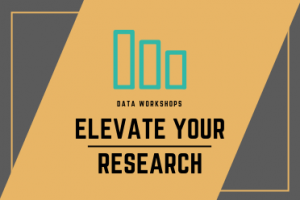Elevate Your Research Data Workshops Image/Logo