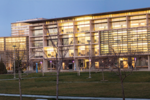 Photo of UC Merced Library Exterior