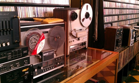 Tape recorder collection