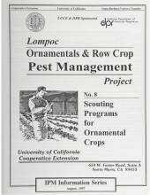 Lompoc Ornamentals & Row Crop Pest Management Project